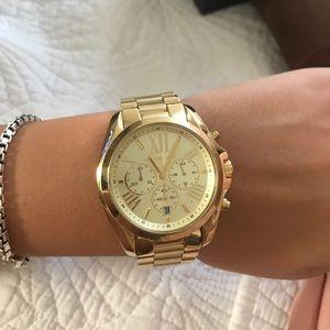 Michael Kors Jewelry - Brand new never worn Gold women's watch